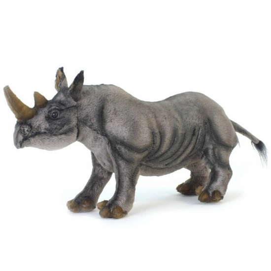 Afbeelding Zwarte neushoorn 46 cm door Animals Giftshop