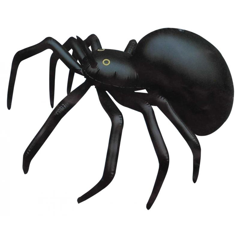 Afbeelding Zwarte opblaas spin 91 cm door Animals Giftshop