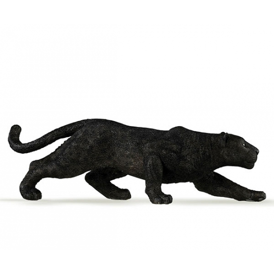 Zwarte panter speeldiertje 14 cm