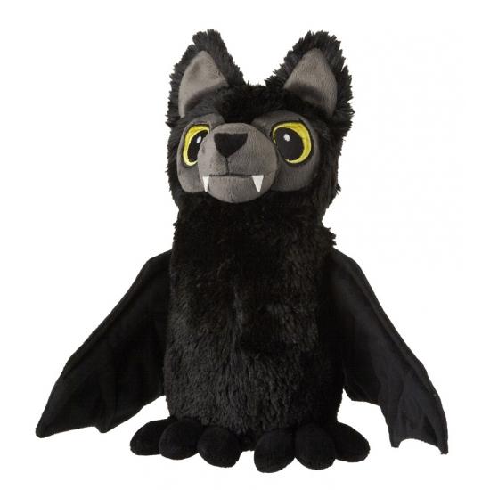 Zwarte vleermuis knuffel 32 cm