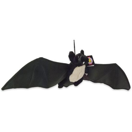 Zwarte vleermuis/vleermuizen knuffels 22 cm knuffeldieren