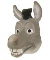 Grijs Donkey masker