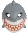 Haaien kindermasker plastic