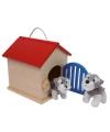 Draagbaar speelgoed hondenhok