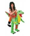 Luxe instap dinosaurus kostuum