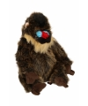 Mandrill baviaan knuffels 25 cm