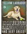Metalen wand bord Golden Retriever