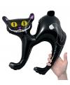 Zwarte kat opblaasbaar 41 cm