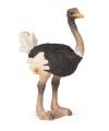 Plastic struisvogel speeldiertje 7 cm