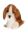 Pluche Basset hond 13 cm