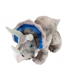 Pluche grijze triceratops knuffel 48 cm