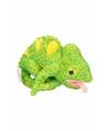 Kameleon knuffel 19 cm