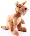 Pluche kangoeroes 19 cm