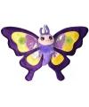 Knuffeldier paarse vlinder 38 cm