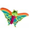 Knuffeldier pluche vlinder 58 cm