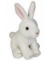 Pluche konijntje wit 15 cm