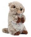 Marmot knuffel van 22 cm