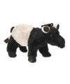 Pluche tapir knuffels 16 cm