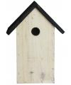 Houten vogelhuisje 27 cm