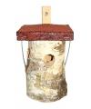 Nestkastje rond 20 cm hout