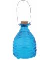 Blauwe wespenval 14 cm