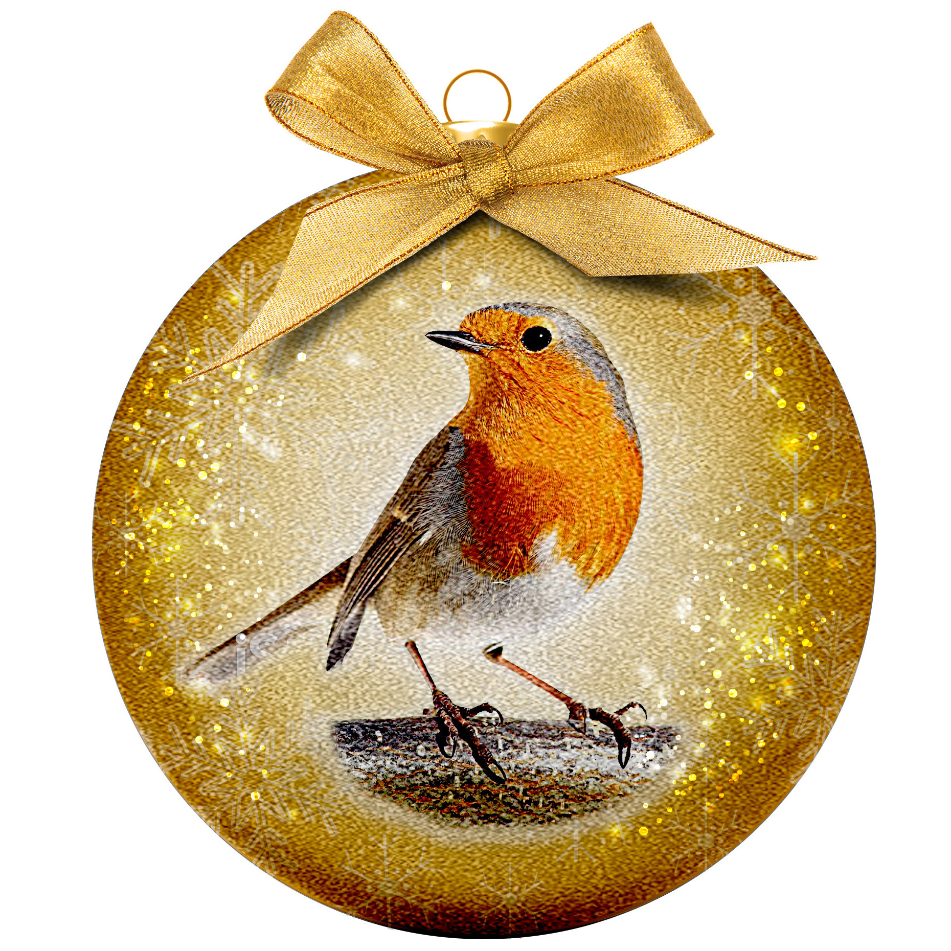 1x Dieren kerstballen met vogels 8 cm