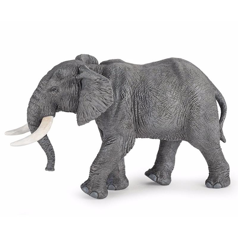 Afrikaanse olifant speeldiertje 16 cm