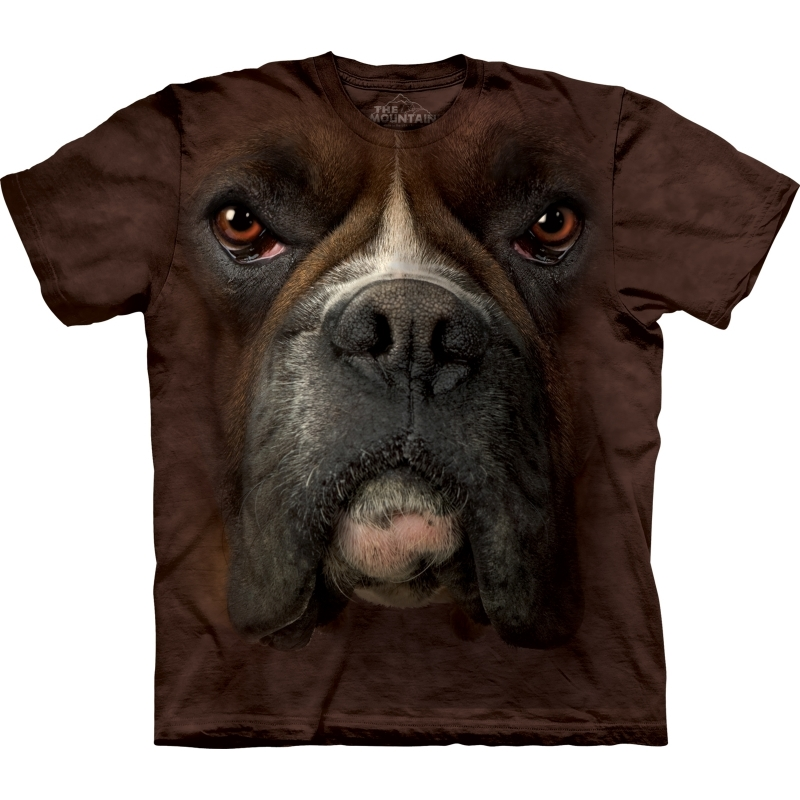All-over print t-shirt met Boxer