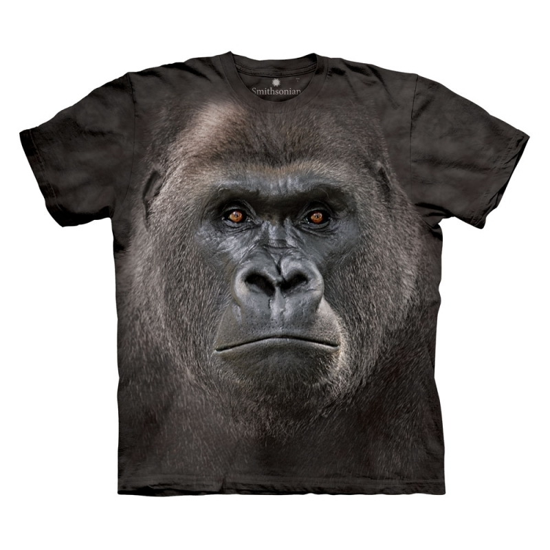 All-over print t-shirt met Gorilla