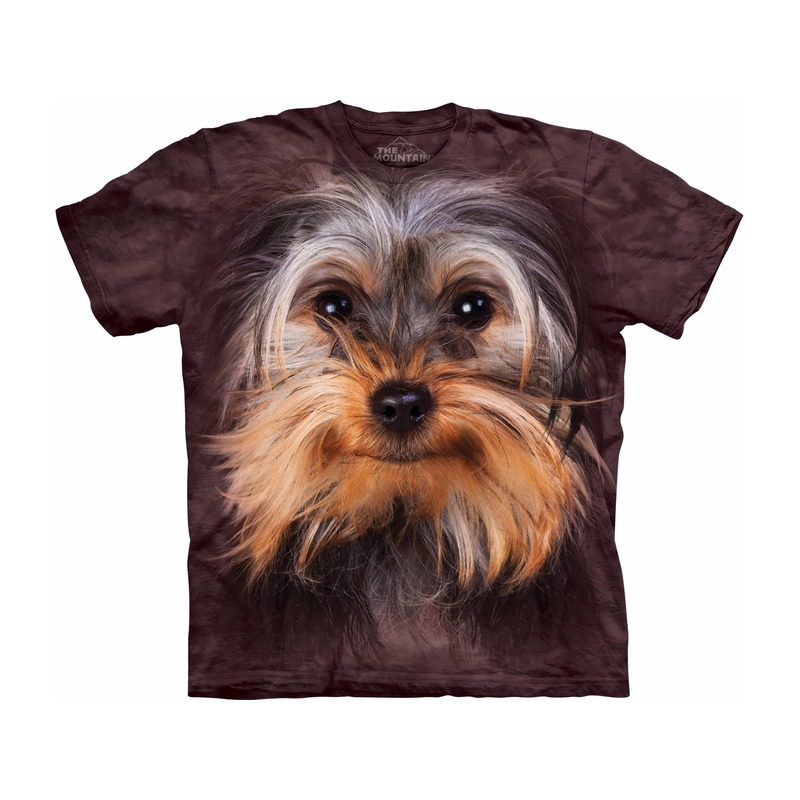 All-over print t-shirt met Yorkshire Terrier