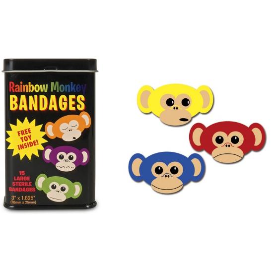 Apen pleisters in een blikje
