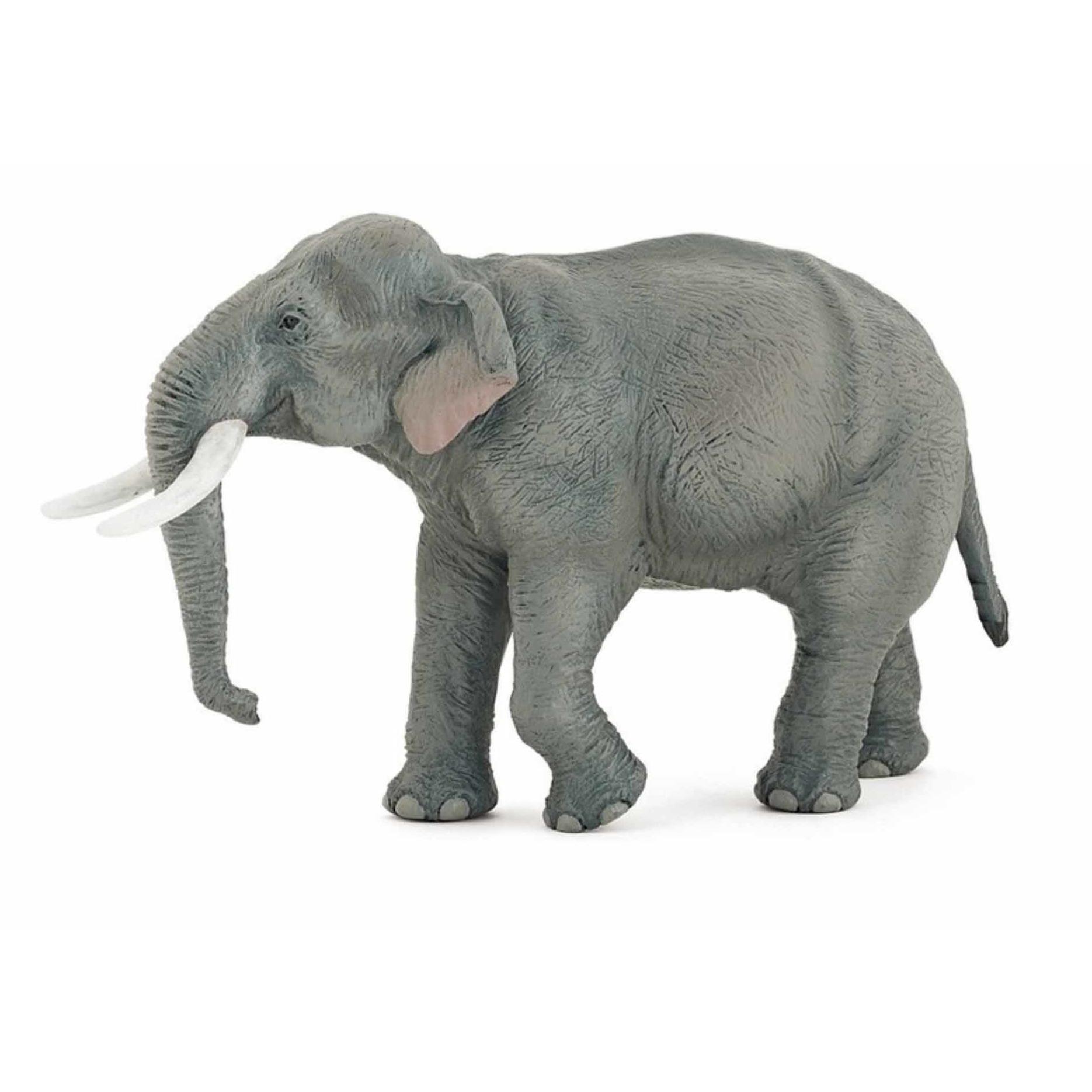 Aziatische moeder olifant speeldiertje 14.5 cm