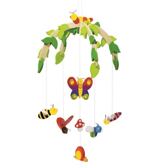 Baby hangdecoratie mobiel insecten