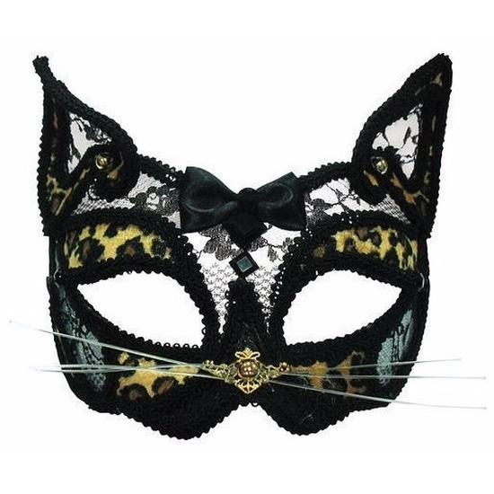 Bal Masque masker luipaard