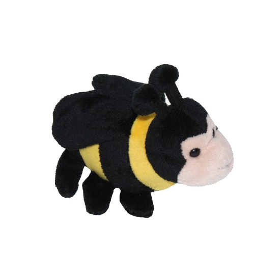 Bijen knuffels met kraalogen 13 cm