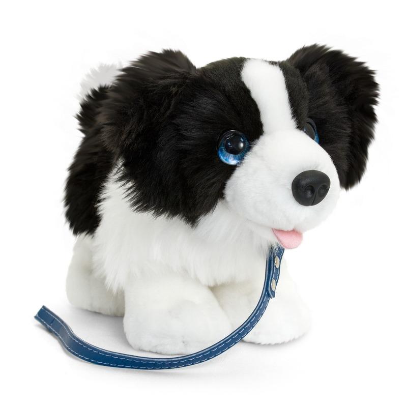 Border collie honden knuffeldier 30 cm