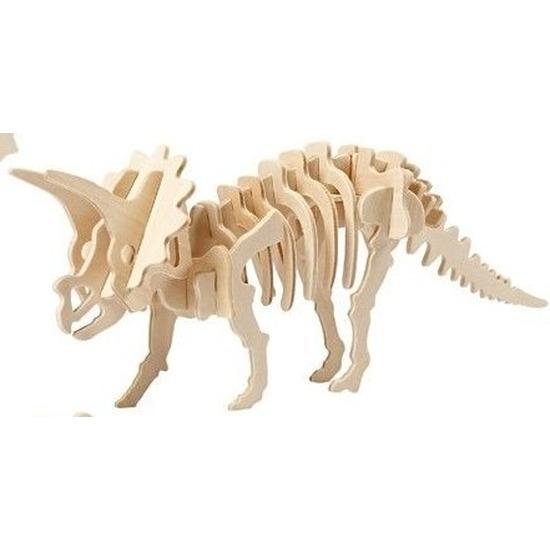 Bouwpakket hout Triceratops