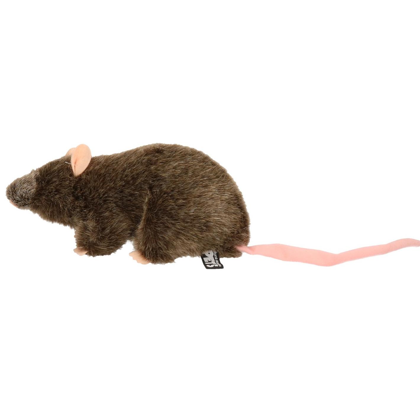 Bruine ratten knuffels 22 cm knuffeldieren