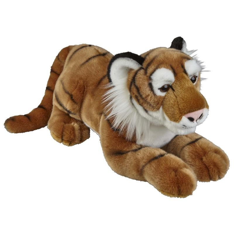 Bruine tijgers knuffels 50 cm knuffeldieren