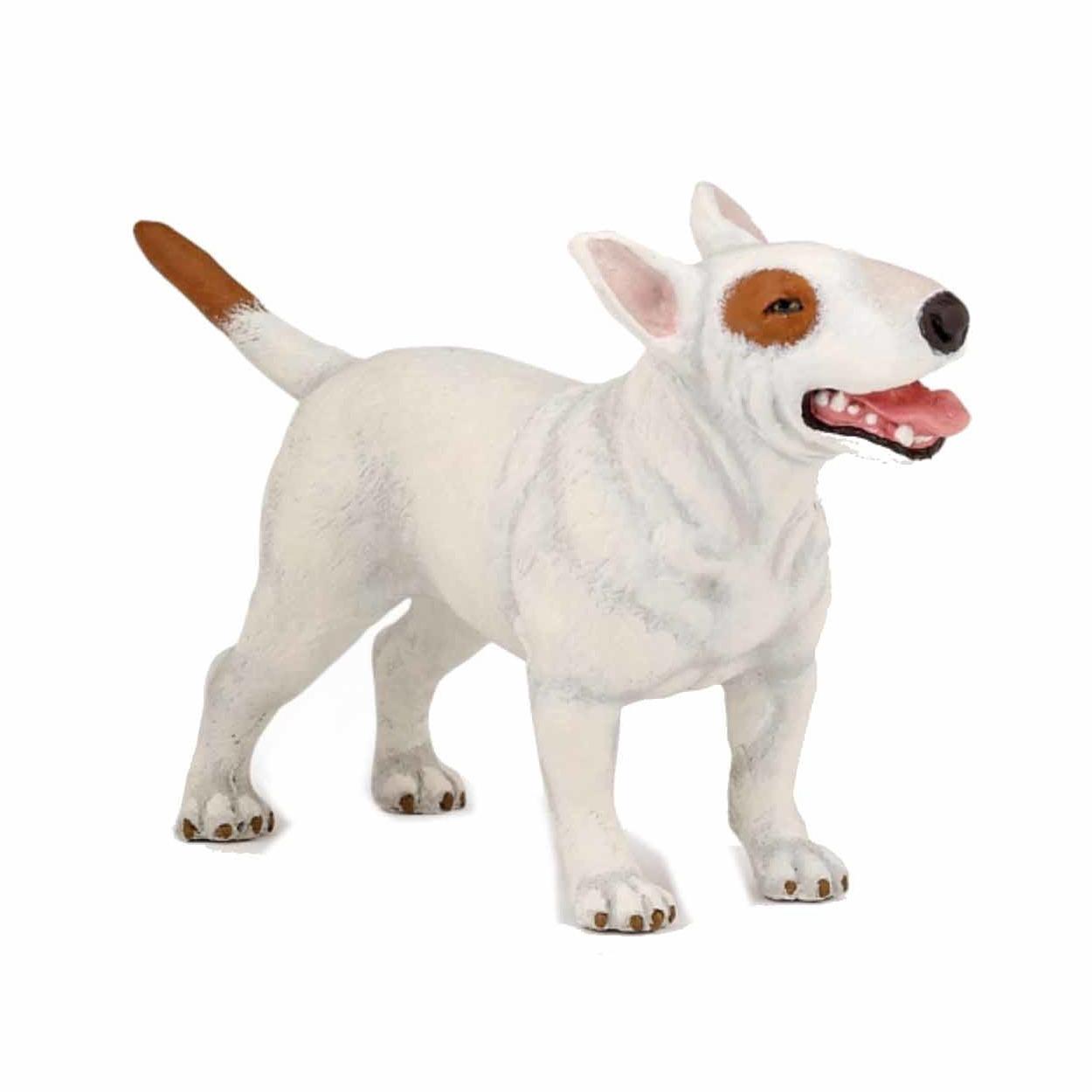 Bull Terrier hond plastic