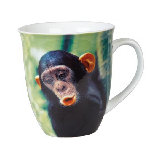 Chimpansee koffiemok/beker 400 ml