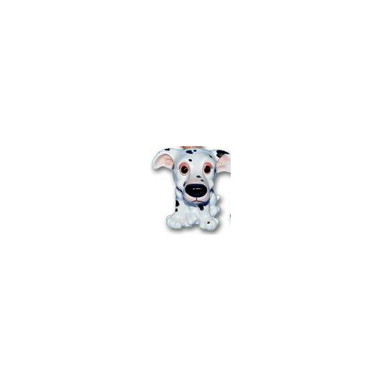 Dalmatier puppy beeldje zittend 13 cm