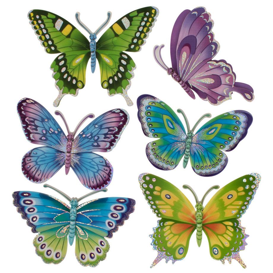 Decoratie stickers vlinders