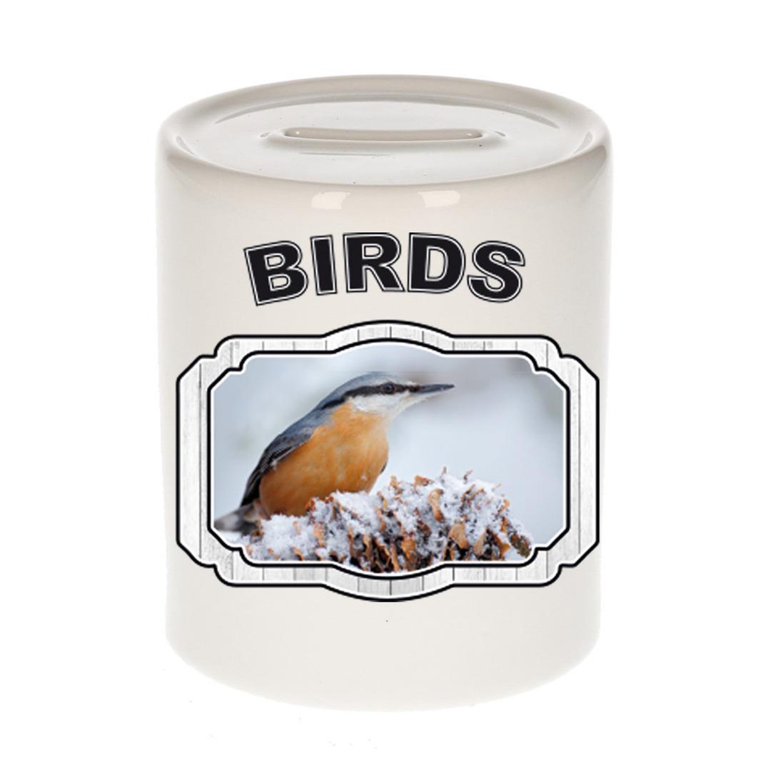 Dieren liefhebber boomklever vogel spaarpot - vogels cadeau