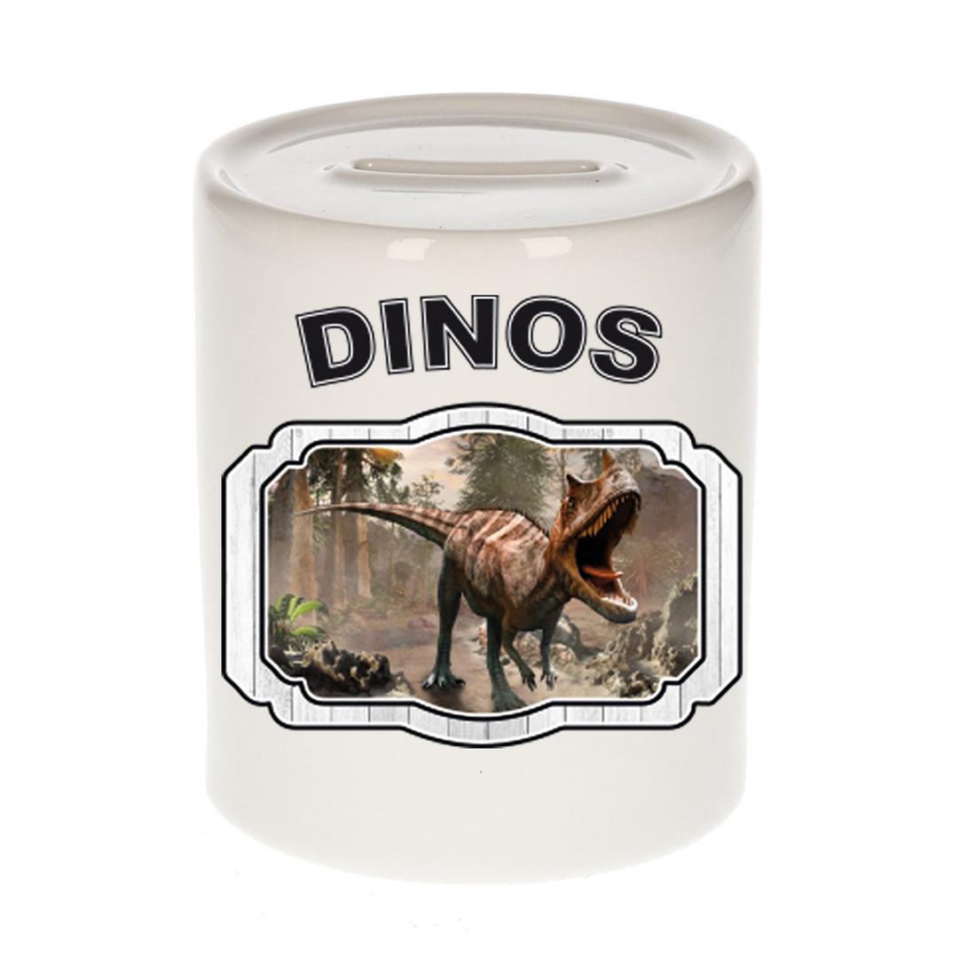 Dieren liefhebber carnotaurus dinosaurus spaarpot - dinosaurussen cadeau