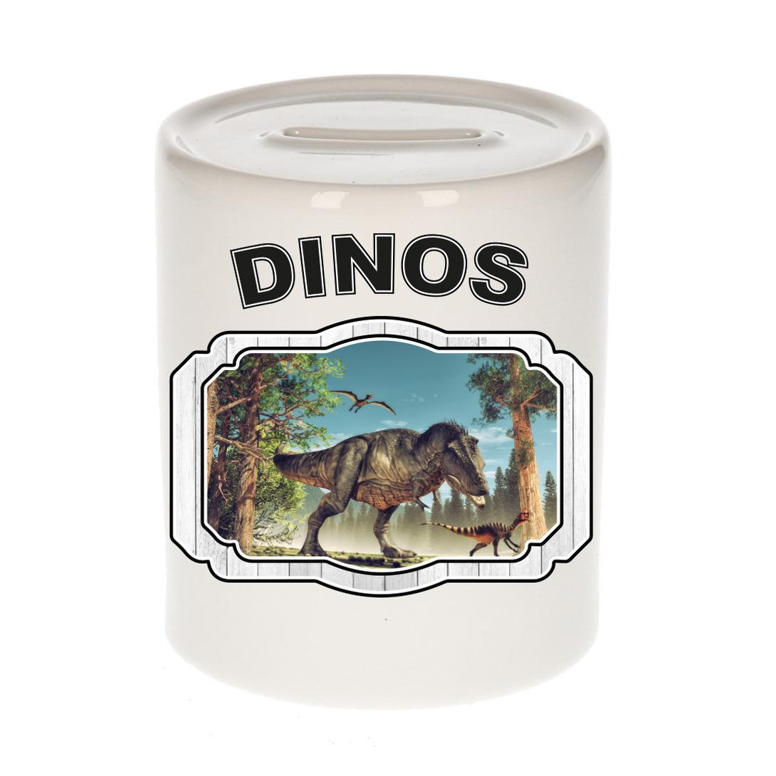 Dieren liefhebber dinosaurus t-rex spaarpot - dinosaurussen cadeau