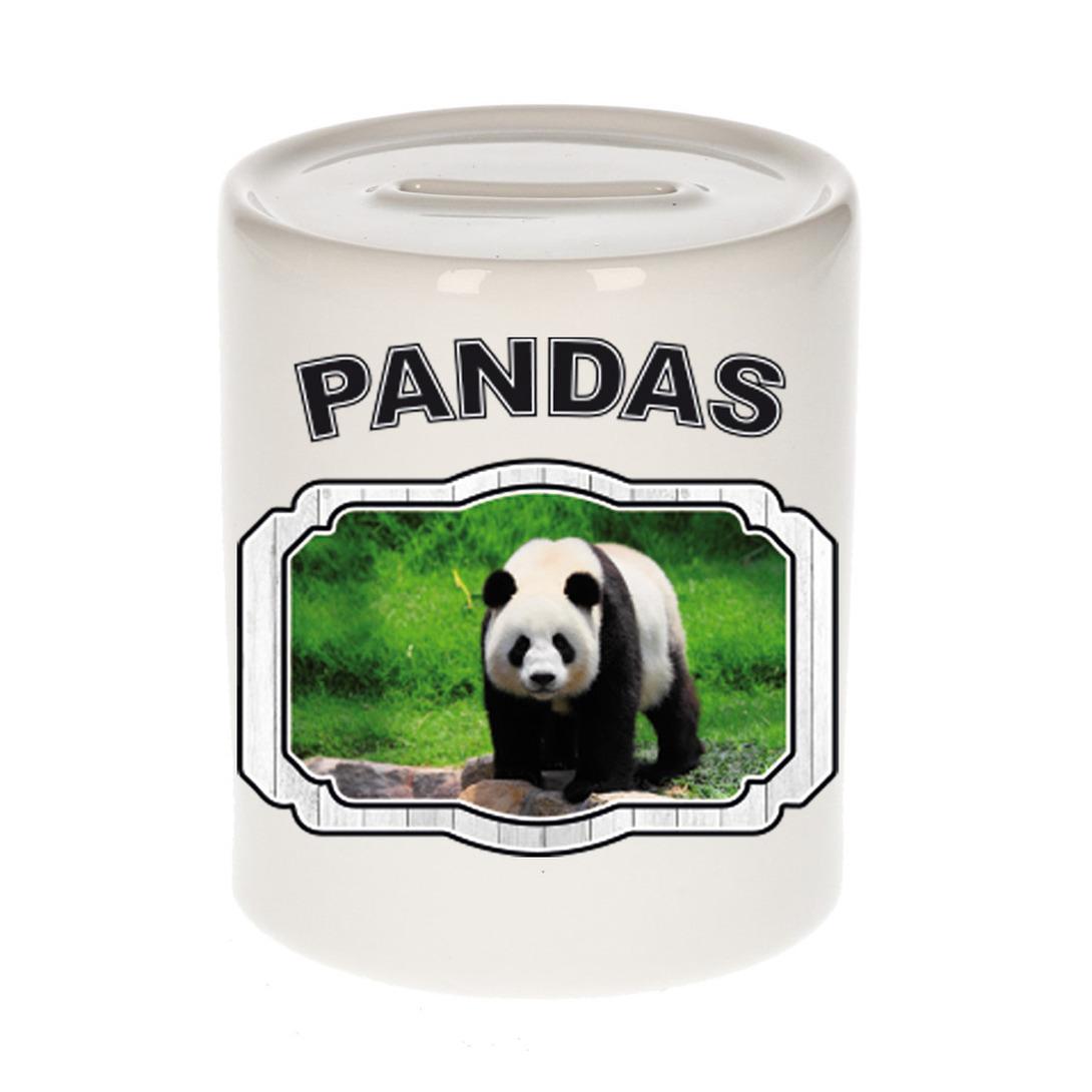 Dieren liefhebber grote panda spaarpot - pandaberen cadeau