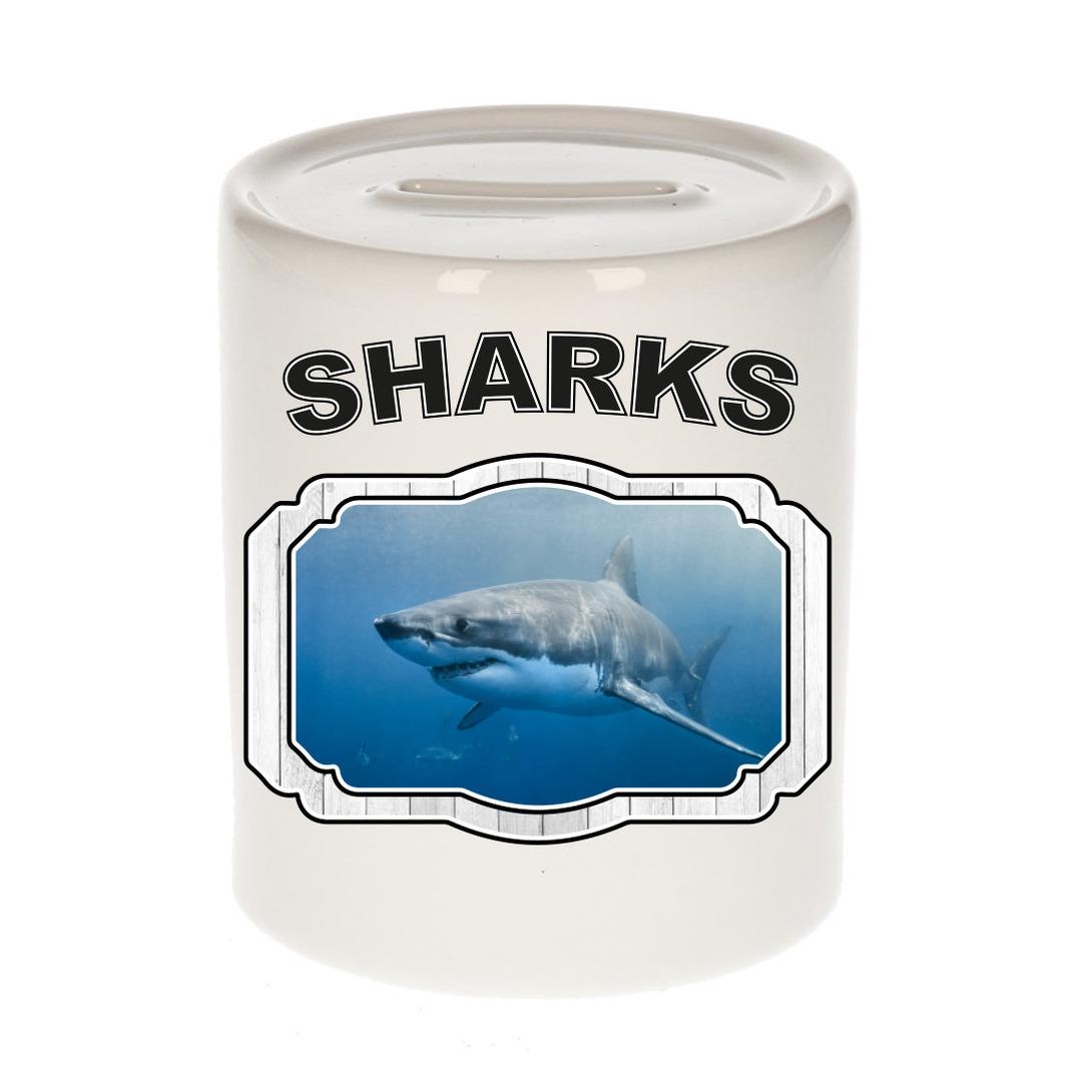 Dieren liefhebber haai spaarpot - haaien cadeau