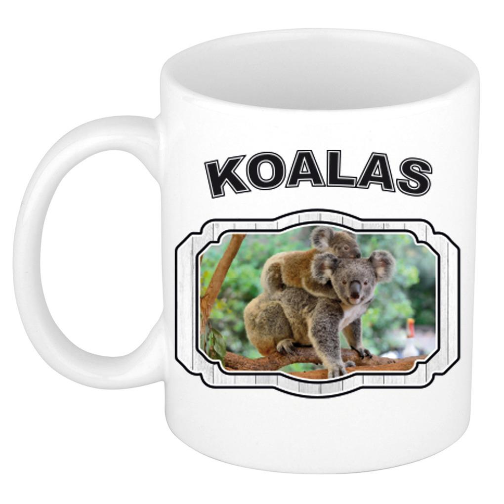 Dieren liefhebber koala mok 300 ml - koalaberen beker