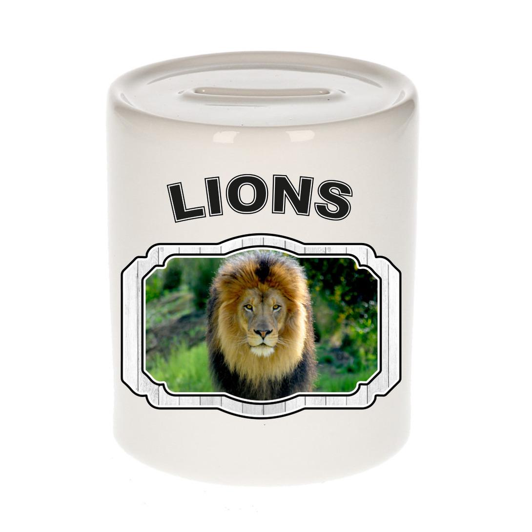 Dieren liefhebber leeuw spaarpot - leeuwen cadeau